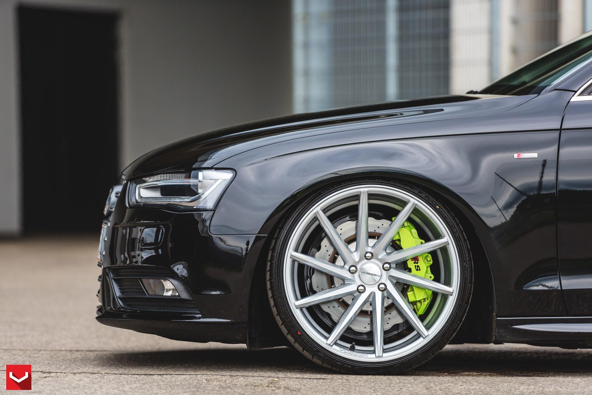 Vossen Cvt Auf Audi A4 Vossenwheels De Wheelscompany