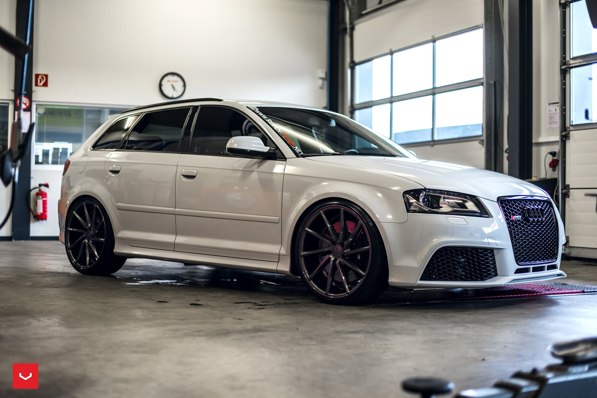 vossen cvt auf audi rs3 wheelscompany. Black Bedroom Furniture Sets. Home Design Ideas