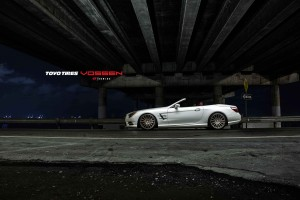 VOSSEN VFS-2 auf Mercedes SL